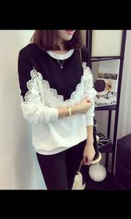 Brand new lace jumper
