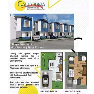 9K Monthly PRE SELLING Townhouse in San Mateo Rizal CALIFORNIA DREAM HOMES
