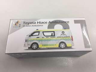 初版 Tiny 21 Toyota Hiace Ambulance St. John