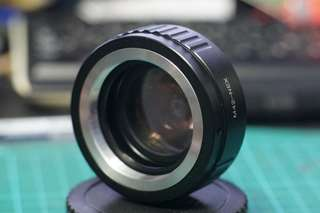 M42 to NEX (Sony E mount) speed booster