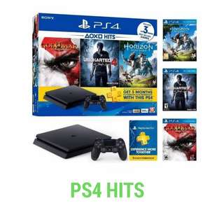 Kredit Sony PS4 Hits 500GB acc 3 menit ready PS3 Laptop Kamera HP
