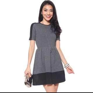 LB Love Bonito Aubrey Dress in graphite XS