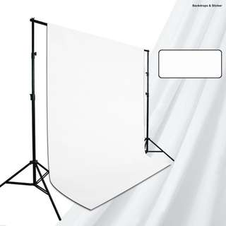 White Backdrop + Backdrop Stand