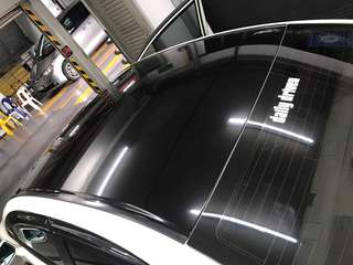 Roof high gloss black wrap