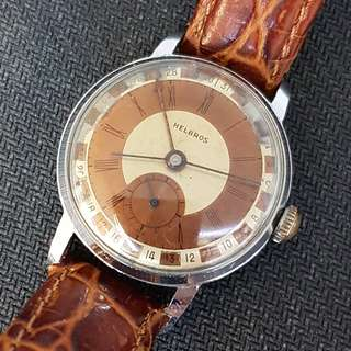 Helbros Winding Vintage Watch
