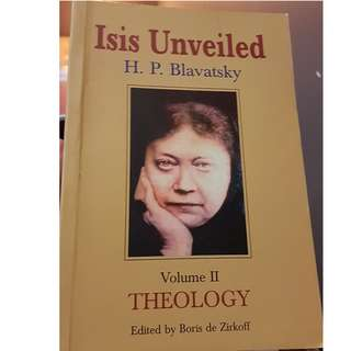 C134 BOOK - ISIS UNVEILED BY H.P. BLAVATSKY, VOL 2