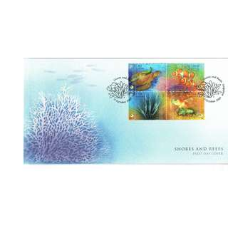 FDC #118  Shores And Reefs