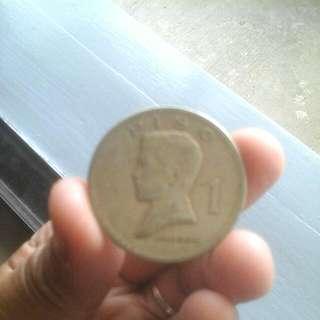 ●1 PESO COIN (1974)●