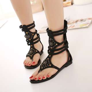 Size 35-40 Studded Gladiators Sandals