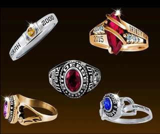 LADY'S CLASS RING