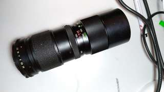 Vivitar Telezoom 85-205mm F3.8 M42 Mount!