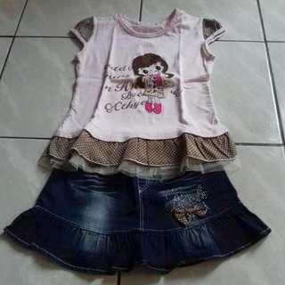 Paket Hemat...  Preloved Baju Anak - 1set 50rb Sajaaa