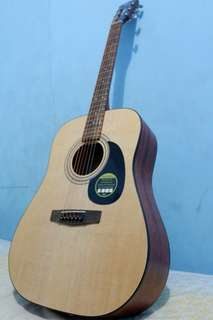 Cort AD 810E OP accoustic guitar non tunner