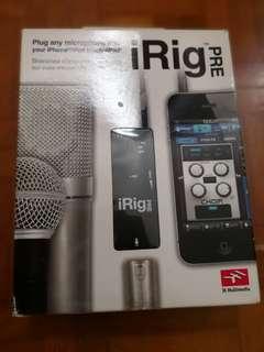 Irig Pre Microphone Pre Amp