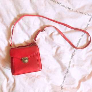 H&M Mini Red Sling Bag - good condition