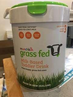 Munchkin grass fed milk-based drink