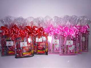 Goody bags, goodies bag, goodie bags