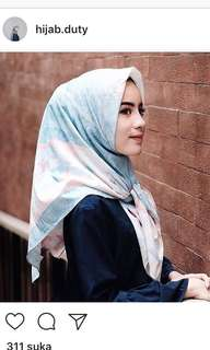 Scarf by hijab duty