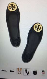 TORY BURCH minnie flat travel