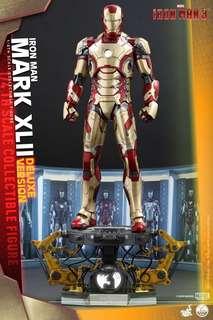 全新 Hottoys Ironman Mark 42 1/4 Mark 7 stealth Mark 21 Mark 20 (共4隻)