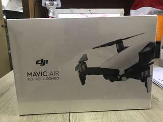 Brand new Mavic Air fly more combo