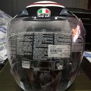 AGV helmet (half face)