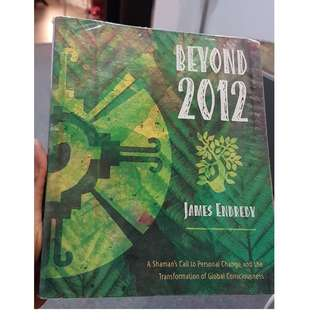 C138 BOOK - BEYOND 2012 BY  JAMES ENDREDY