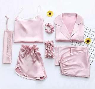 6piece Pink Pyjamas Set