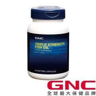 🚚 「GNC健安喜」三效魚油1500膠囊食品(60顆)