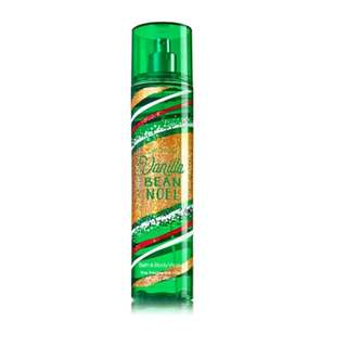 Bath and Body Works - VANILLA BEAN NOEL Fine Fragrance Mist - 236 mL