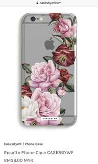 Rosette iPhone 7 Case by CASESBYWF #20under