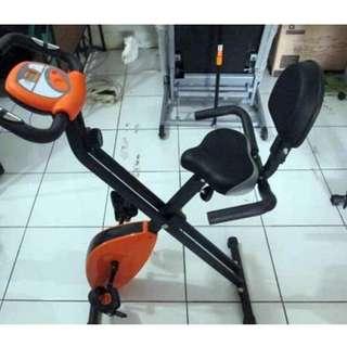Sepeda fitnes magnetic excider bike sandaran termurah
