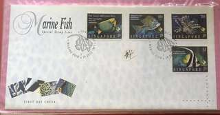 1995 First Day Cover - Marine Fish