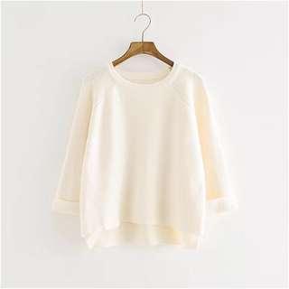 🚚 [二手]白色毛衣