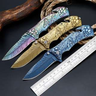 彩色折叠刀  Color folding knife   预收款 一周内发货 Advance receipts Shipment within one week