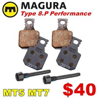Magura Type 8.P Performance Brake Pads for MT5, MT7 --------  (Magura MT2 MT4 MT5 MT5e MT6 MT7 MT8 Trail XTR M9020 XT M8020 M8000 M785 SLX M7000 M675 M315 ) DYU