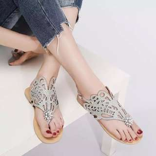 Size 32-45 Diamond Rhinestone Glitter Sandals