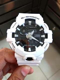 Bunga 0% Tanpa DP G-Shock GA-700-7ADR Kredit Tanpa CC
