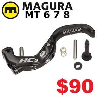 Magura HC3 Adjustable Disc Brake Lever Blade, Fits MT6, MT7, MT8, MT Trail Carbon --------  (Magura MT2 MT4 MT5 MT5e MT6 MT7 MT8 Trail XTR M9020 XT M8020 M8000 M785 SLX M7000 M675 M315 ) DYU