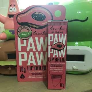 🚚 Paw Paw 啵啵寶爪果 天然萃取護唇膏 10g