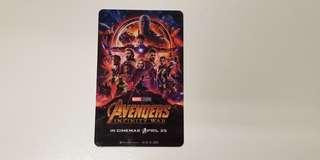 Marvel Avengers Infinity War Card