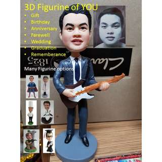 3D Mini Figure of YOURSELF OR LOVE ONES