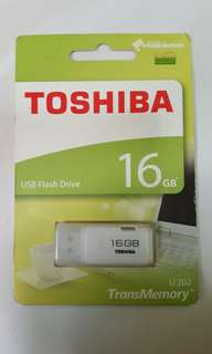 Brand New Toshiba 16GB USB Flash Drive