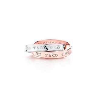 Tiffany 1837 interlocking ring . Tiffany & co