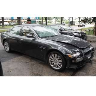 ORIGINAL USED MASERATI QUATTROPORTE 4.2 AUTO 2011 MODEL PARTS FOR SALE (07115)