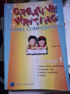 Creative Writing composition for primary 1