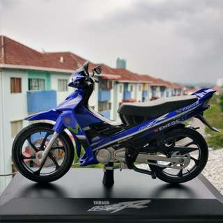 Yamaha 125Z 125ZR Movistar Scale Model Diecast