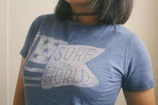 'Surf The World' Graphic Tee