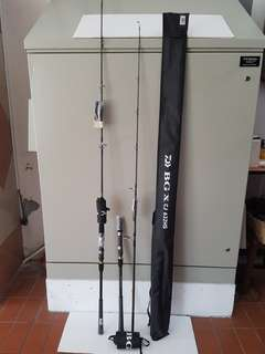 (New & Just Arrival.!! 6ft- 6ft 6in Spinning Cast/Boat Jigging Rods.!!)= (a). Daiwa- BG CJ 602MS(6ft Rod, PE 1.0-2.5, Jig Wt: 150g Max). (b). Daiwa-BG CJ 632MHS(6ft 3in Rod, PE 1.2-2.5, Jig Wt: 180g). (c). Daiwa- BG CJ 632HS(PE 1.5-3.0, Jig Wt: 240g).