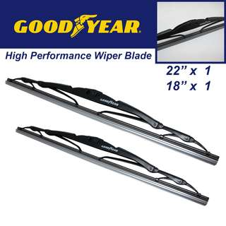 "Goodyear High Performance  Wiper Blade 22""/18"" Set"